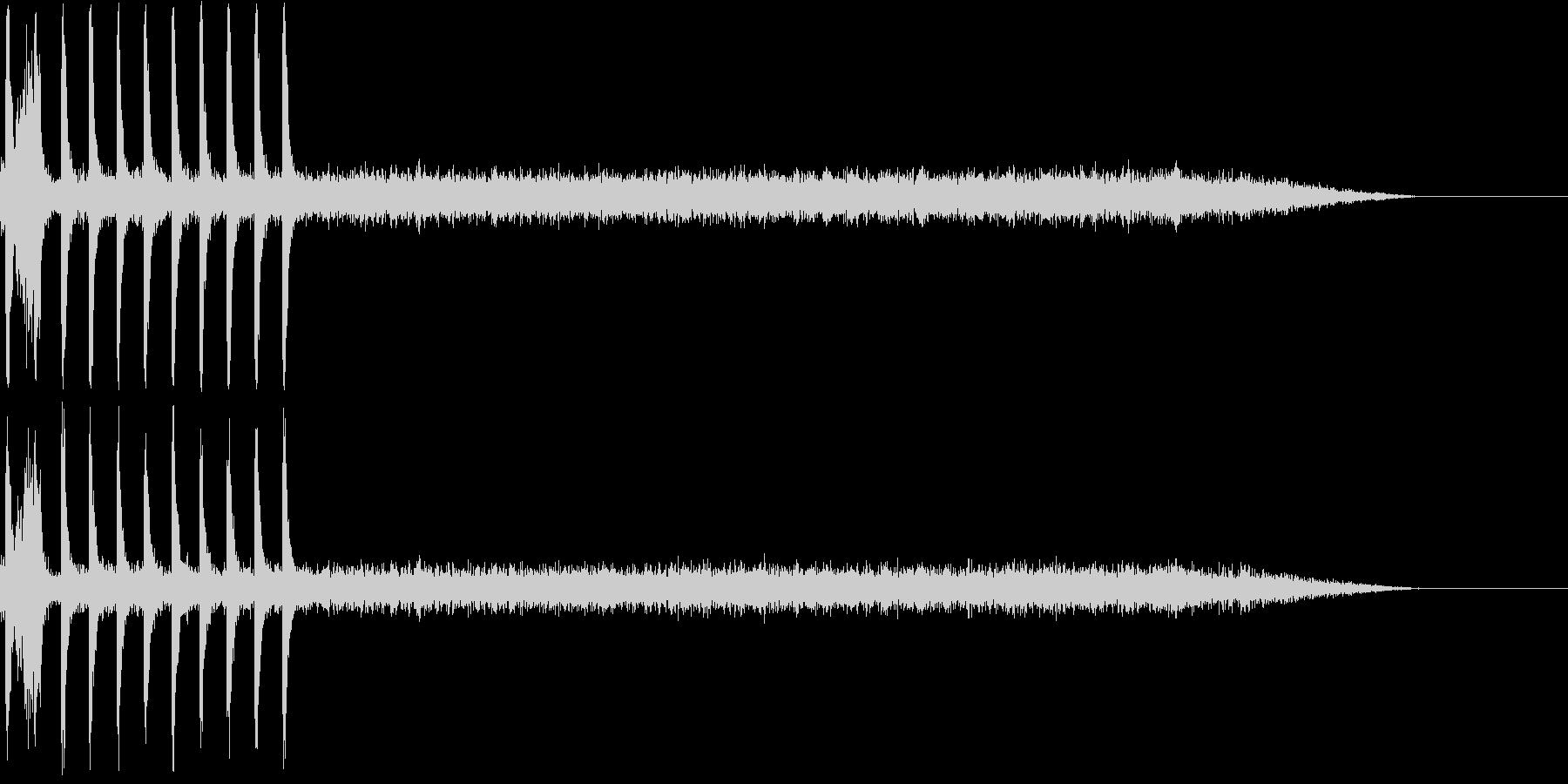 ガスコンロの未再生の波形