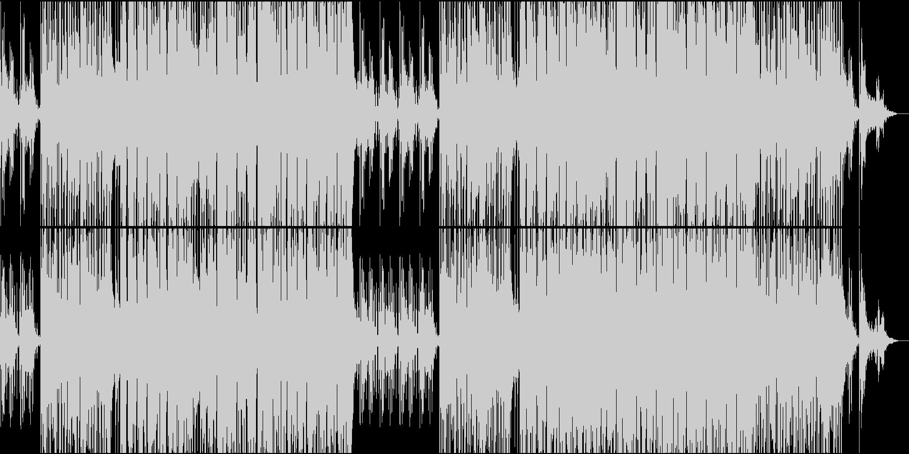 ガットギターPOPギターインストの未再生の波形