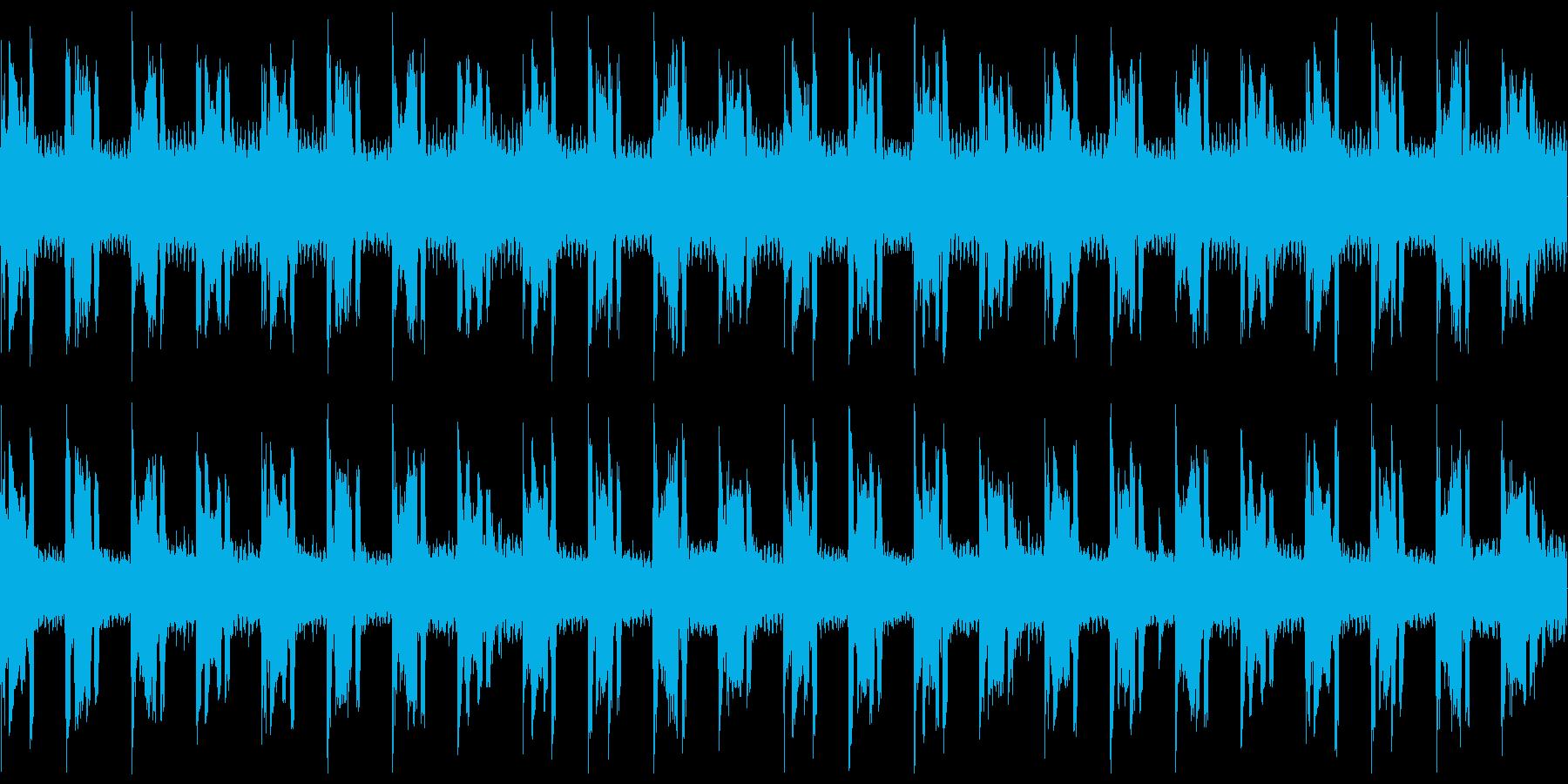 【ドラム抜き】おしゃれでメロディレスな…の再生済みの波形