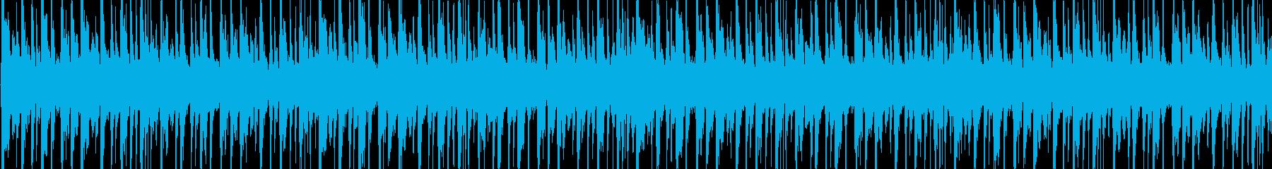 おしゃれなハウス系。ほのぼのした雰囲気の再生済みの波形