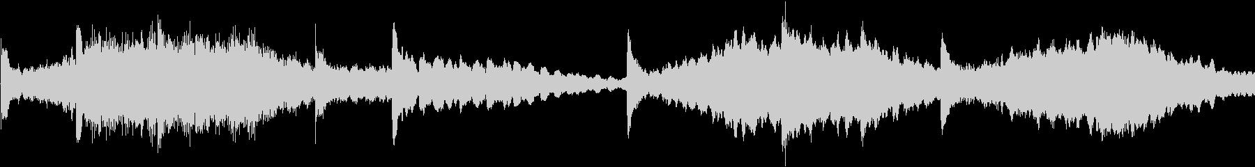 テクノを強く意識した楽曲です。繰り返し…の未再生の波形