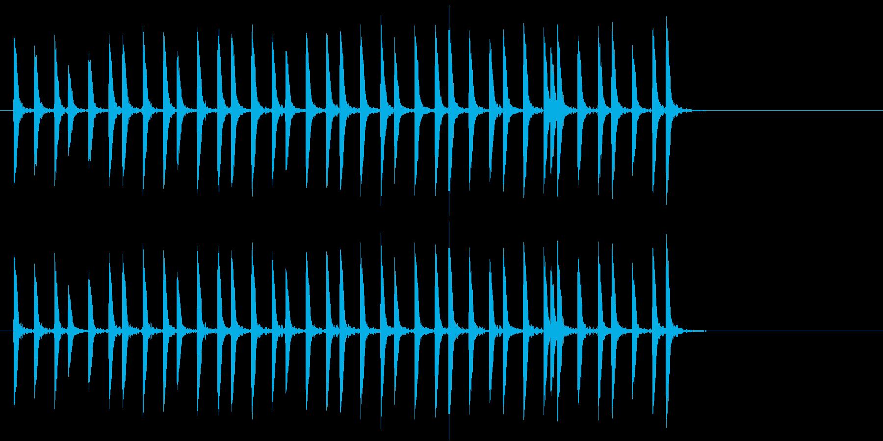 トットットタットットの再生済みの波形