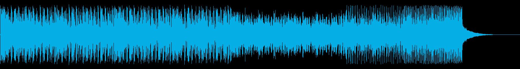 きれいめのシンセポップ(インスト曲)の再生済みの波形