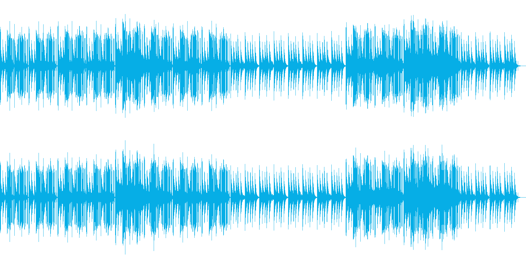 哀愁漂うHIPHOPの再生済みの波形