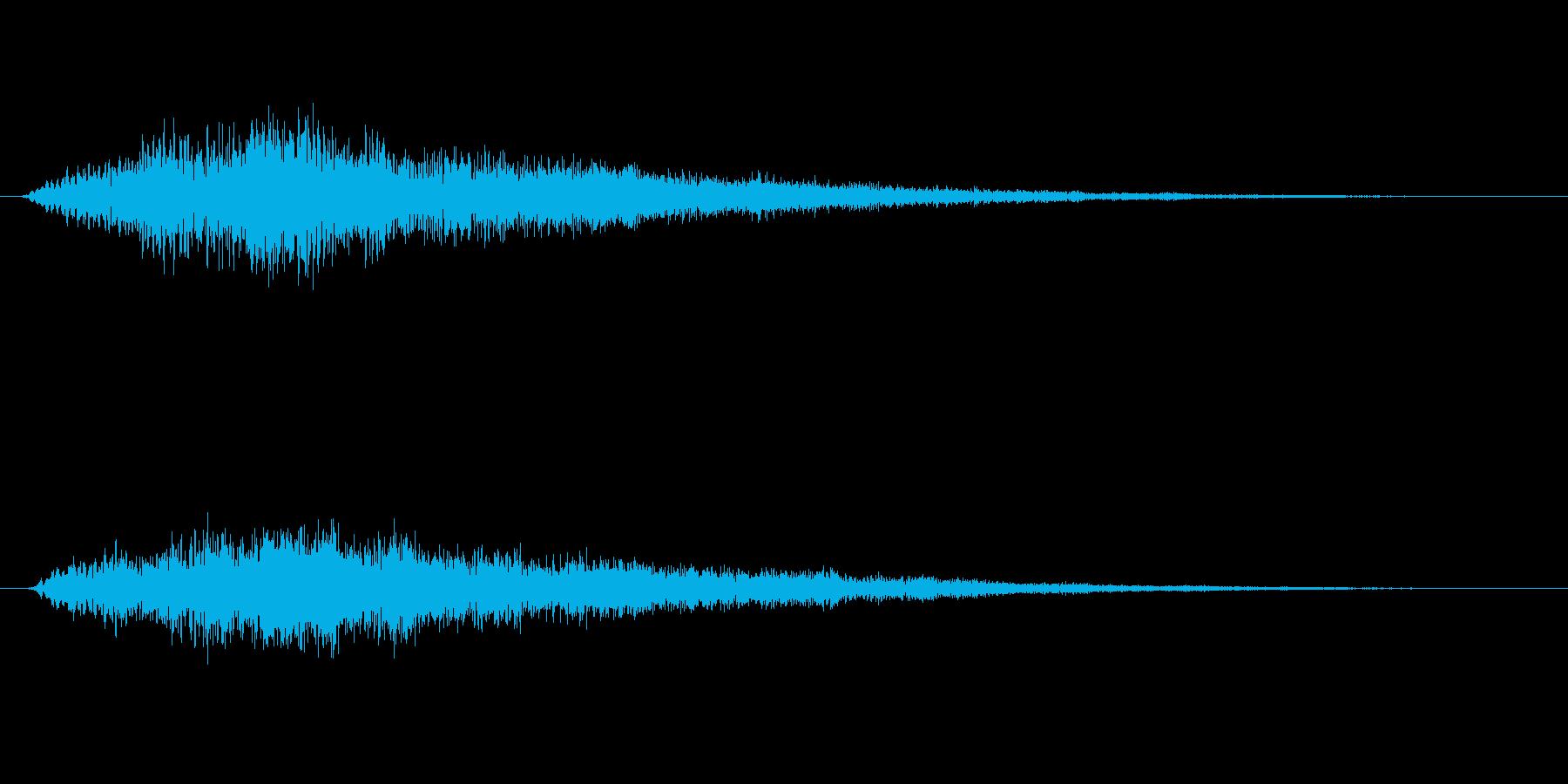 トゥルルーン テロップ・決定音の再生済みの波形