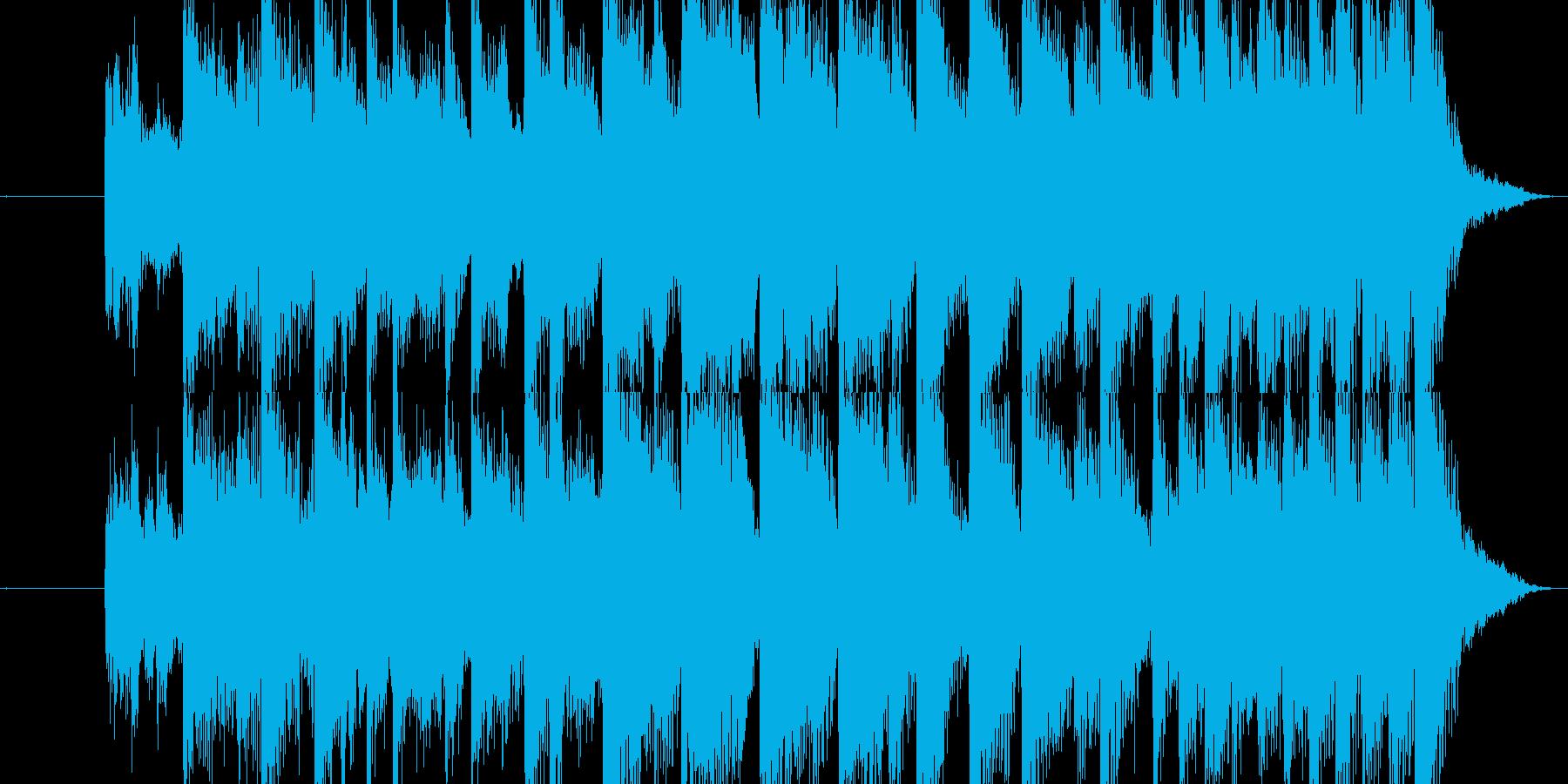 場面転換ジングル12秒の再生済みの波形