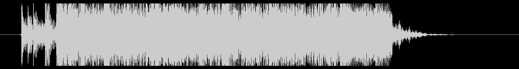 メロデス ジングル bpm220 疾走の未再生の波形