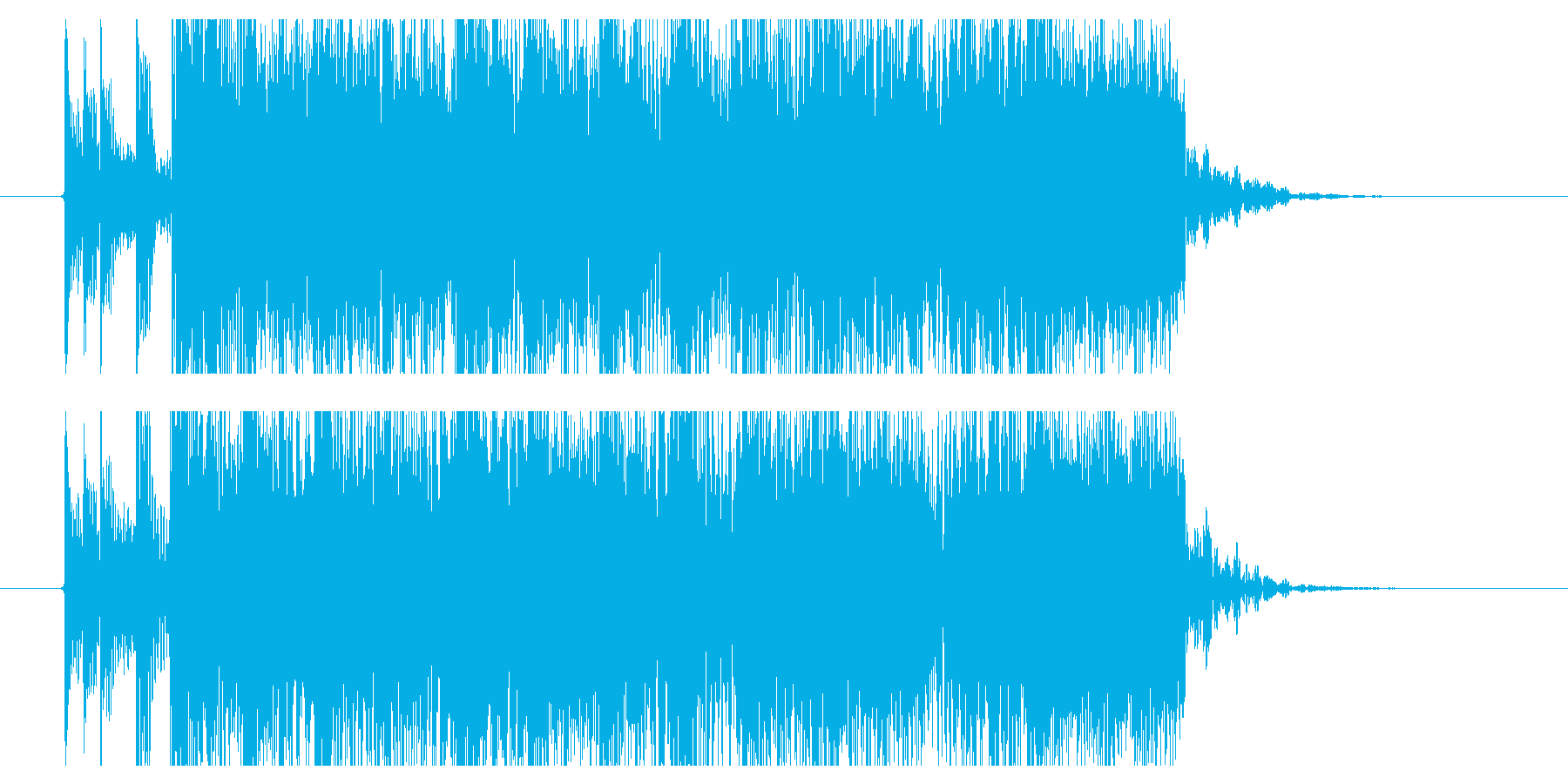 メロデス ジングル bpm220 疾走の再生済みの波形