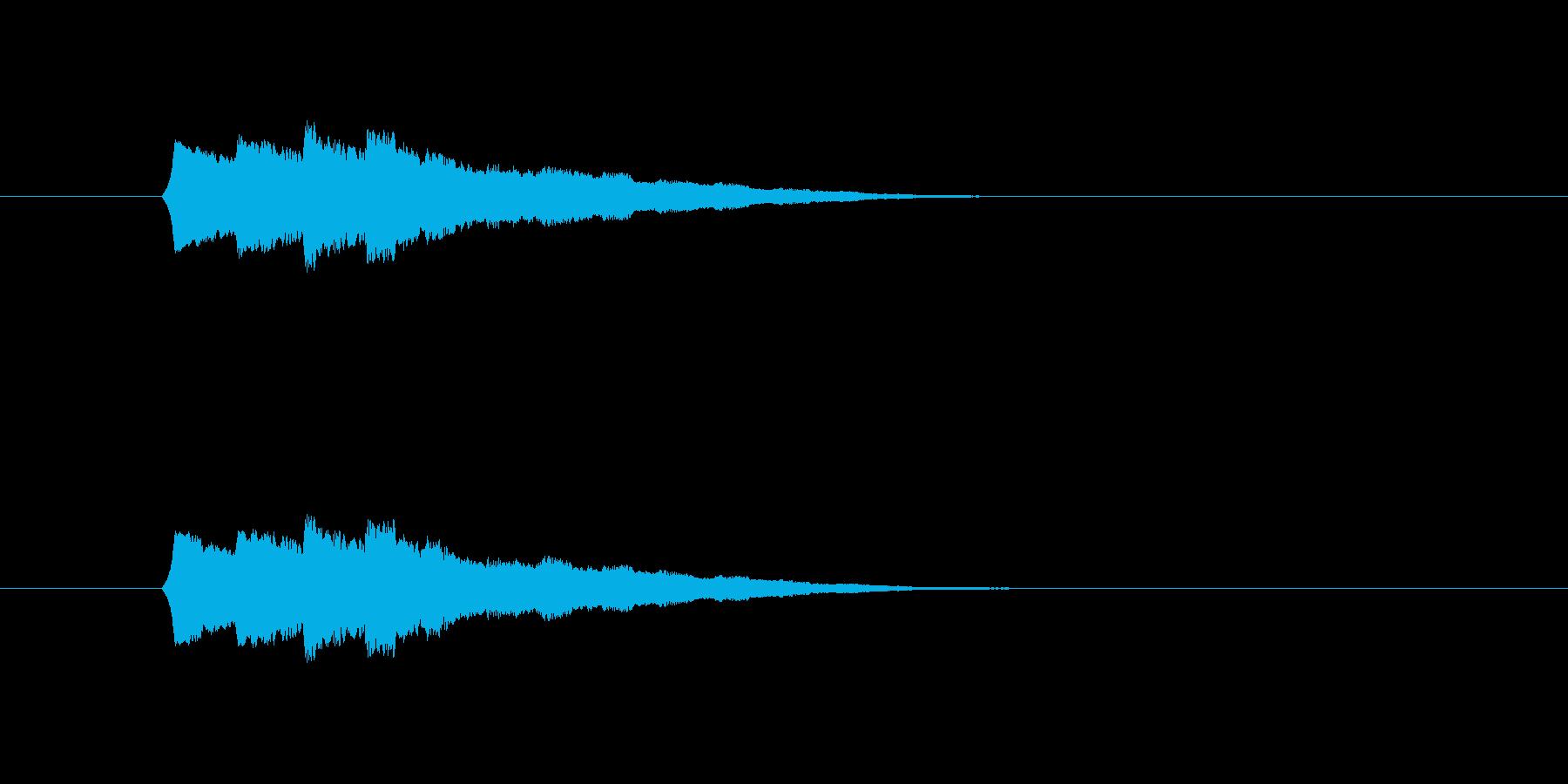 操作系SEの再生済みの波形