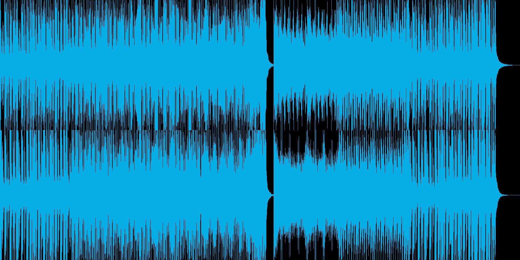 軽快なピアノ曲です。の再生済みの波形