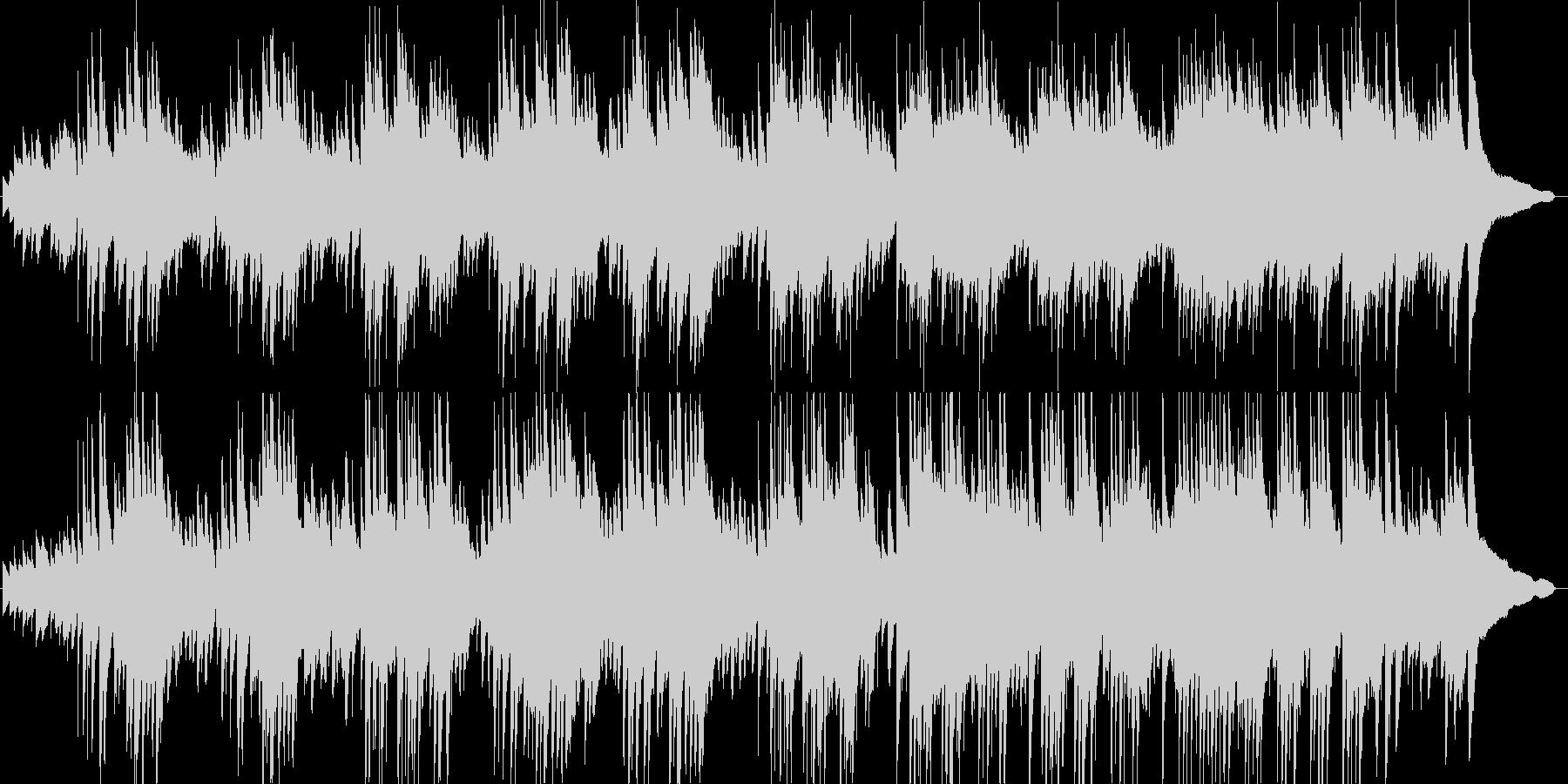 ピアノインスト。静かな海のイメージですの未再生の波形