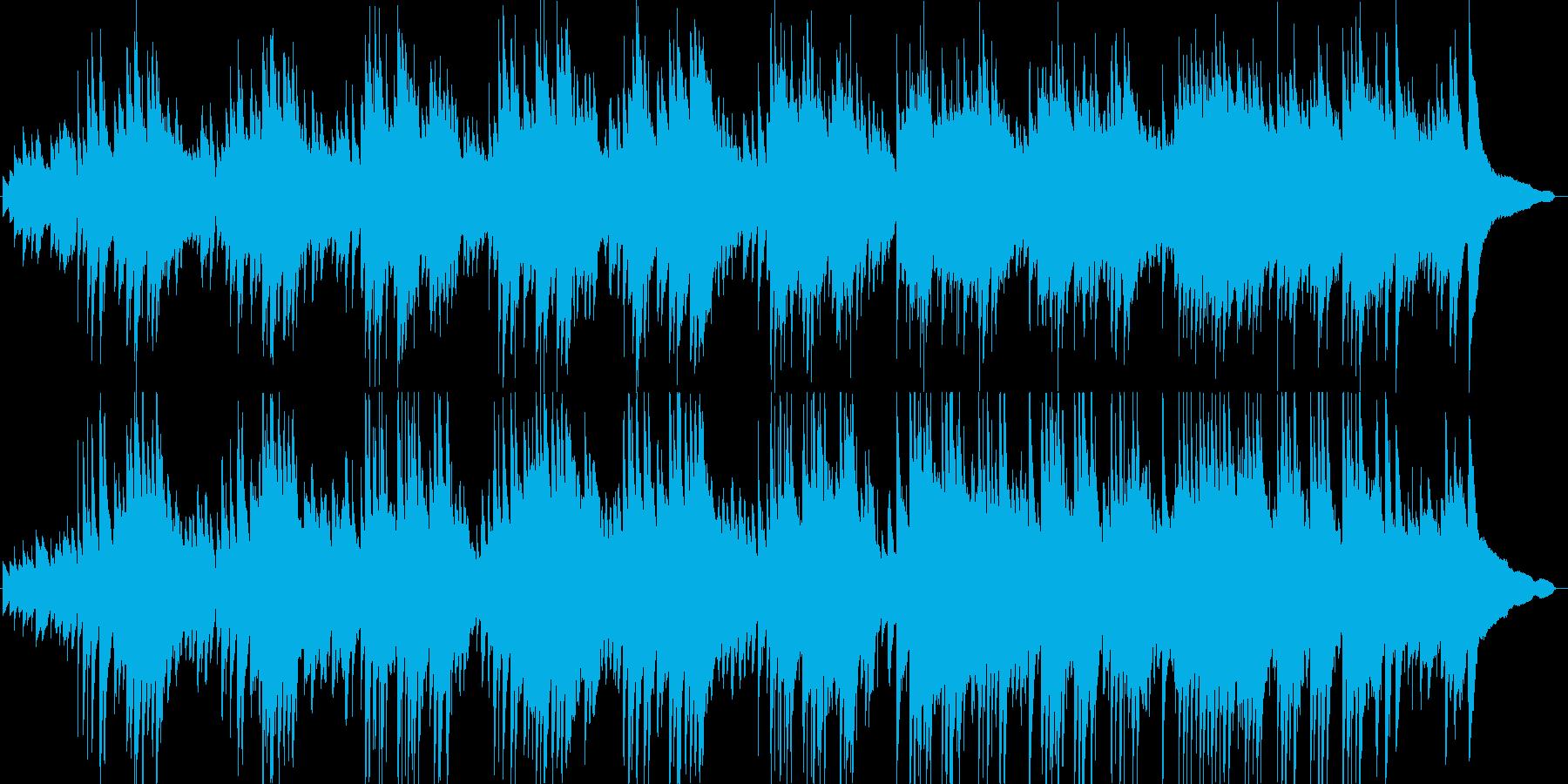 ピアノインスト。静かな海のイメージですの再生済みの波形