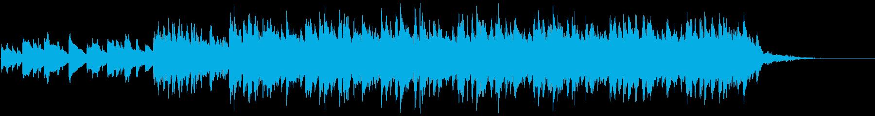 アラブ系エスニックサウンドの再生済みの波形