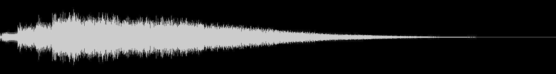 サウンドロゴ、ジングル(エレキギター)の未再生の波形