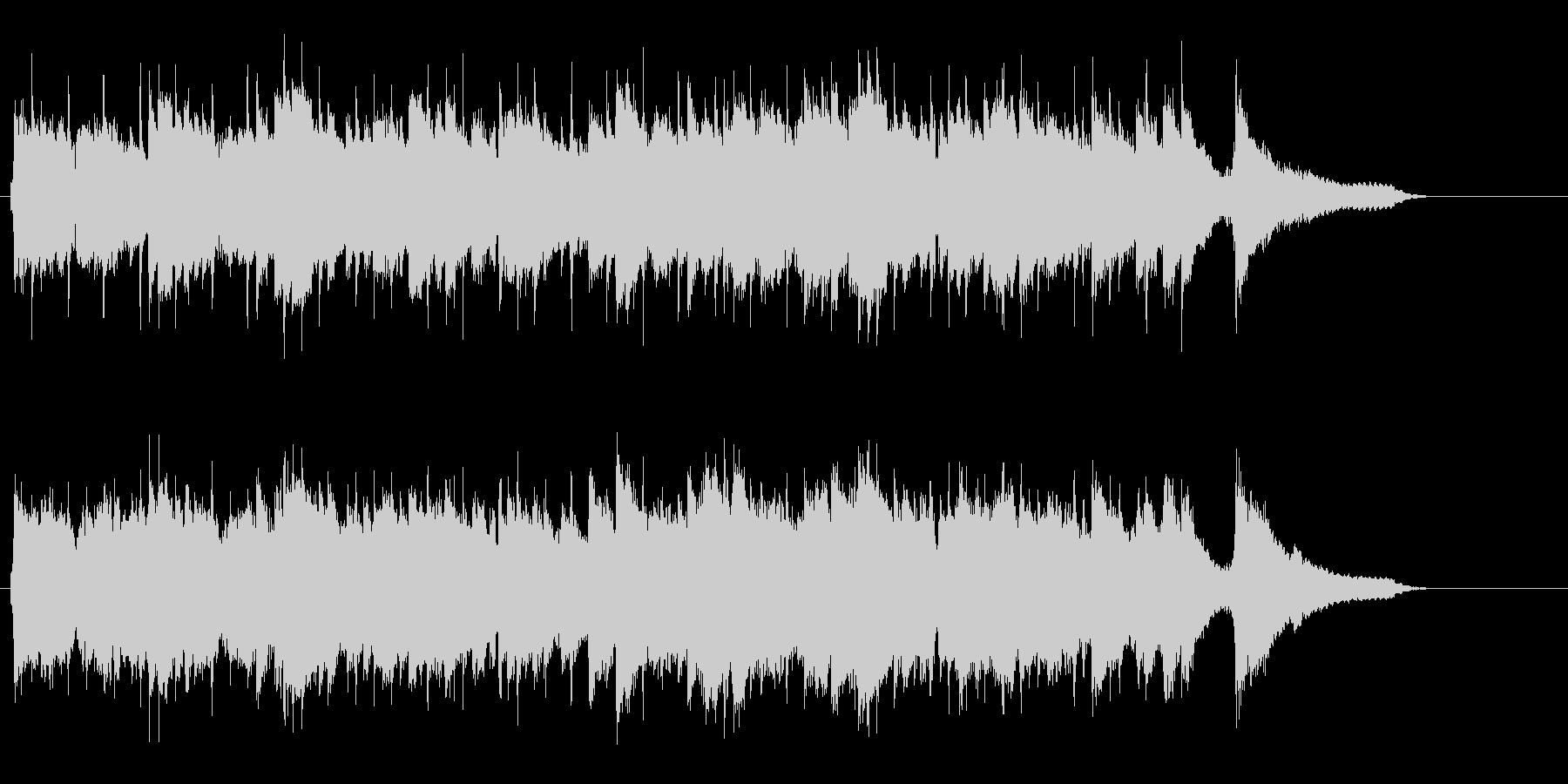 ハーモニカをフィーチャーしたカントリー調の未再生の波形