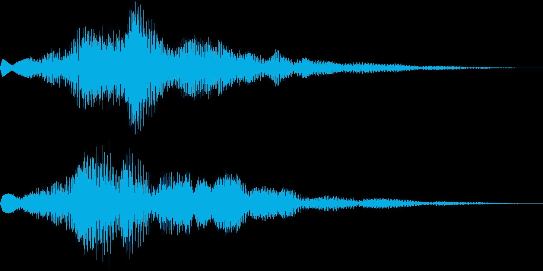 Pad 前兆・予兆・不吉・不安 SEの再生済みの波形