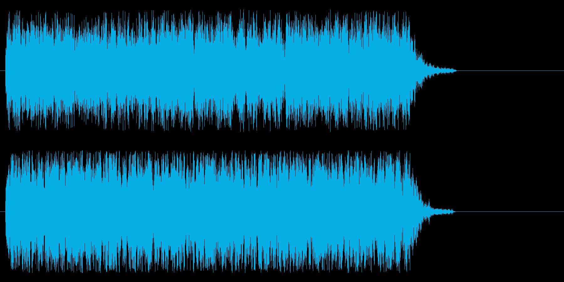 ビーム、機械系の再生済みの波形