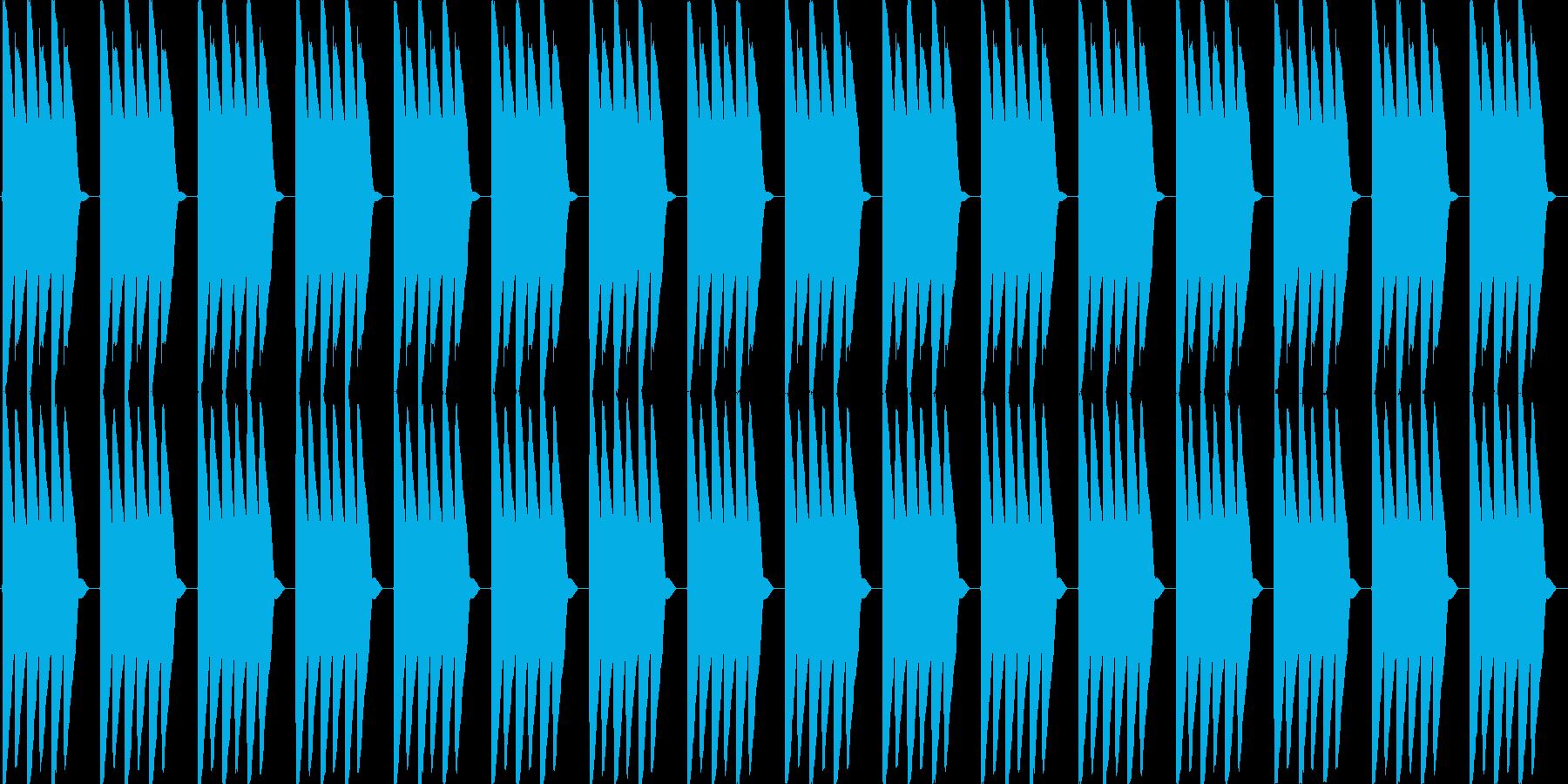ピロピロピロ(電子目覚まし時計のアラー…の再生済みの波形