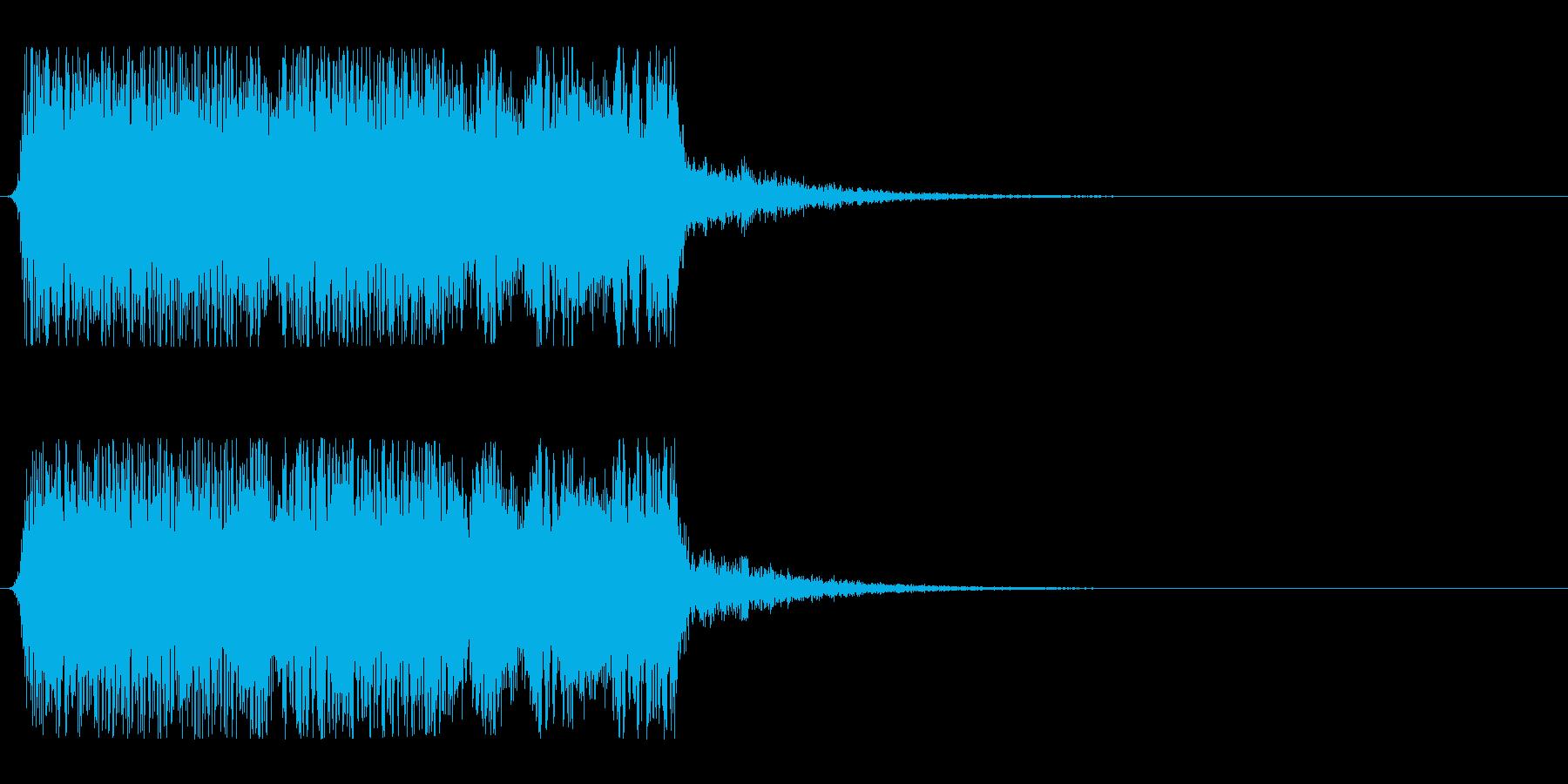 和風掛け声_コンビネーション3_Wetの再生済みの波形