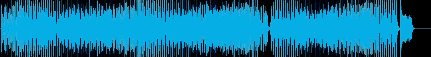 元気でハッピーなほのぼのとしたBGMの再生済みの波形