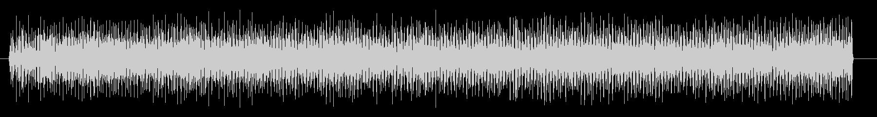 ビリビリビリ 感電する演出のときの音、…の未再生の波形