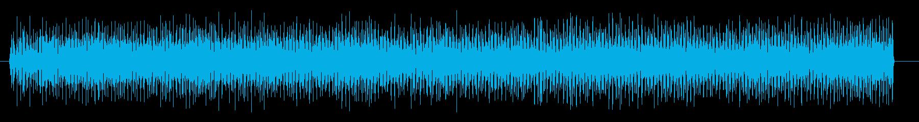 ビリビリビリ 感電する演出のときの音、…の再生済みの波形