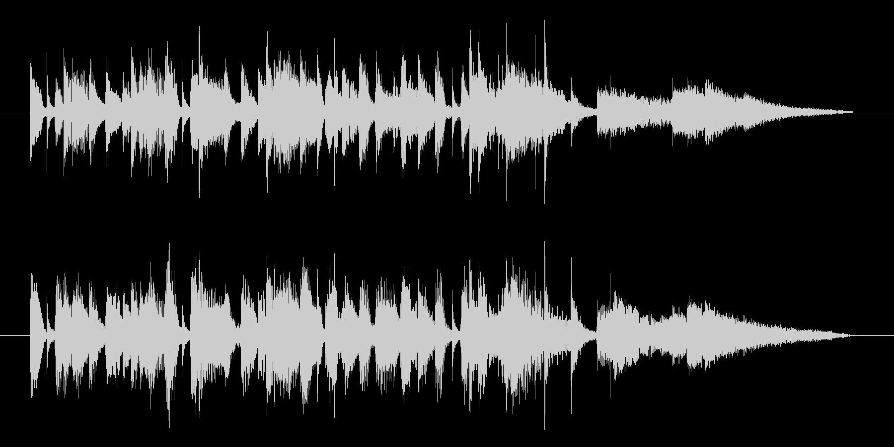夏の海・リゾートのジャズサンバ・15秒版の未再生の波形