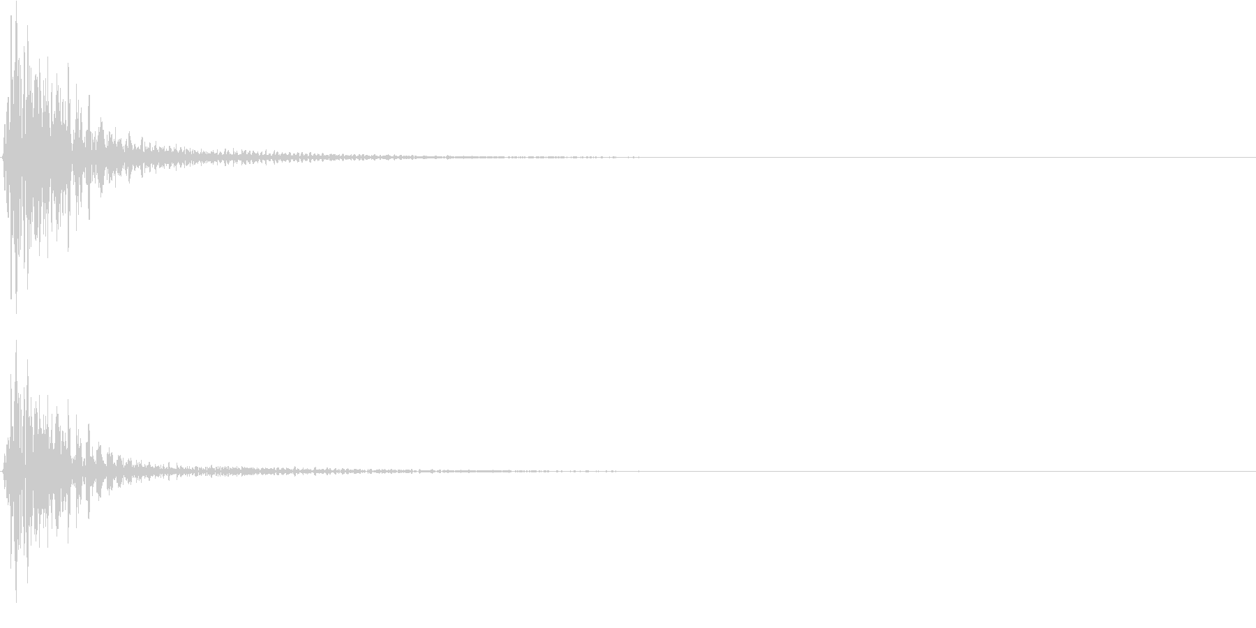 ポーン(ゲーム、アプリなどの操作音02)の未再生の波形