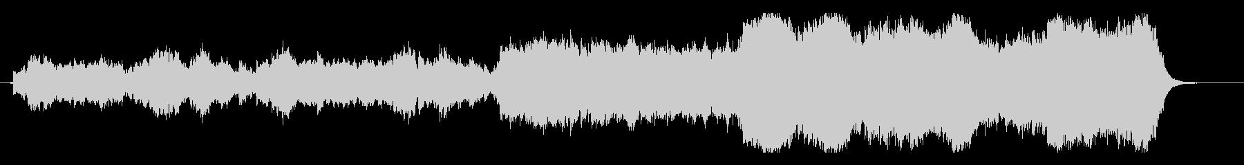 スピリチュアルで切ないヒーリングサウンドの未再生の波形