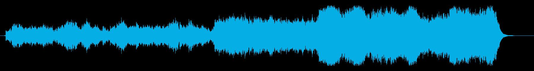 スピリチュアルで切ないヒーリングサウンドの再生済みの波形