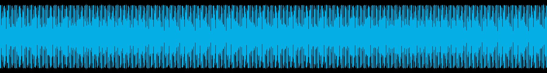 NES レースゲーム01-2(エンジンの再生済みの波形