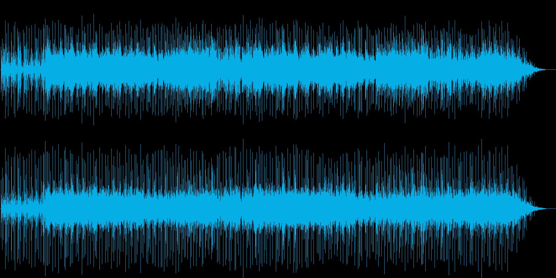 エレキギターがかっこいいクロスオーバーの再生済みの波形