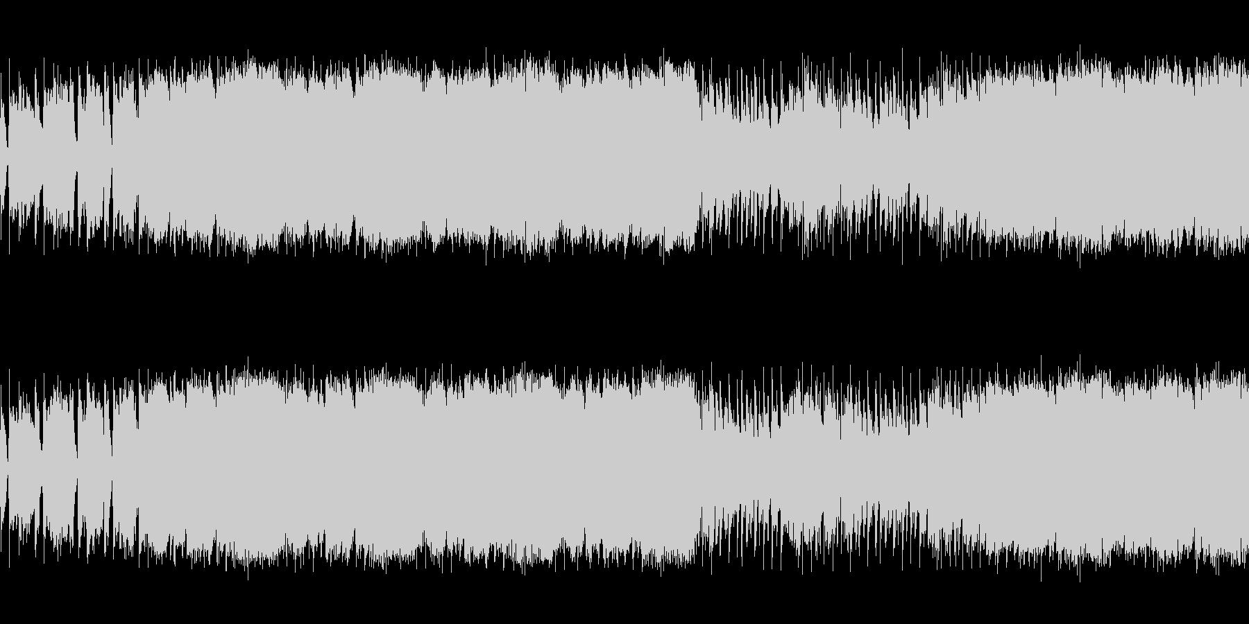 【爽やかなプログレロック、シンセリード】の未再生の波形