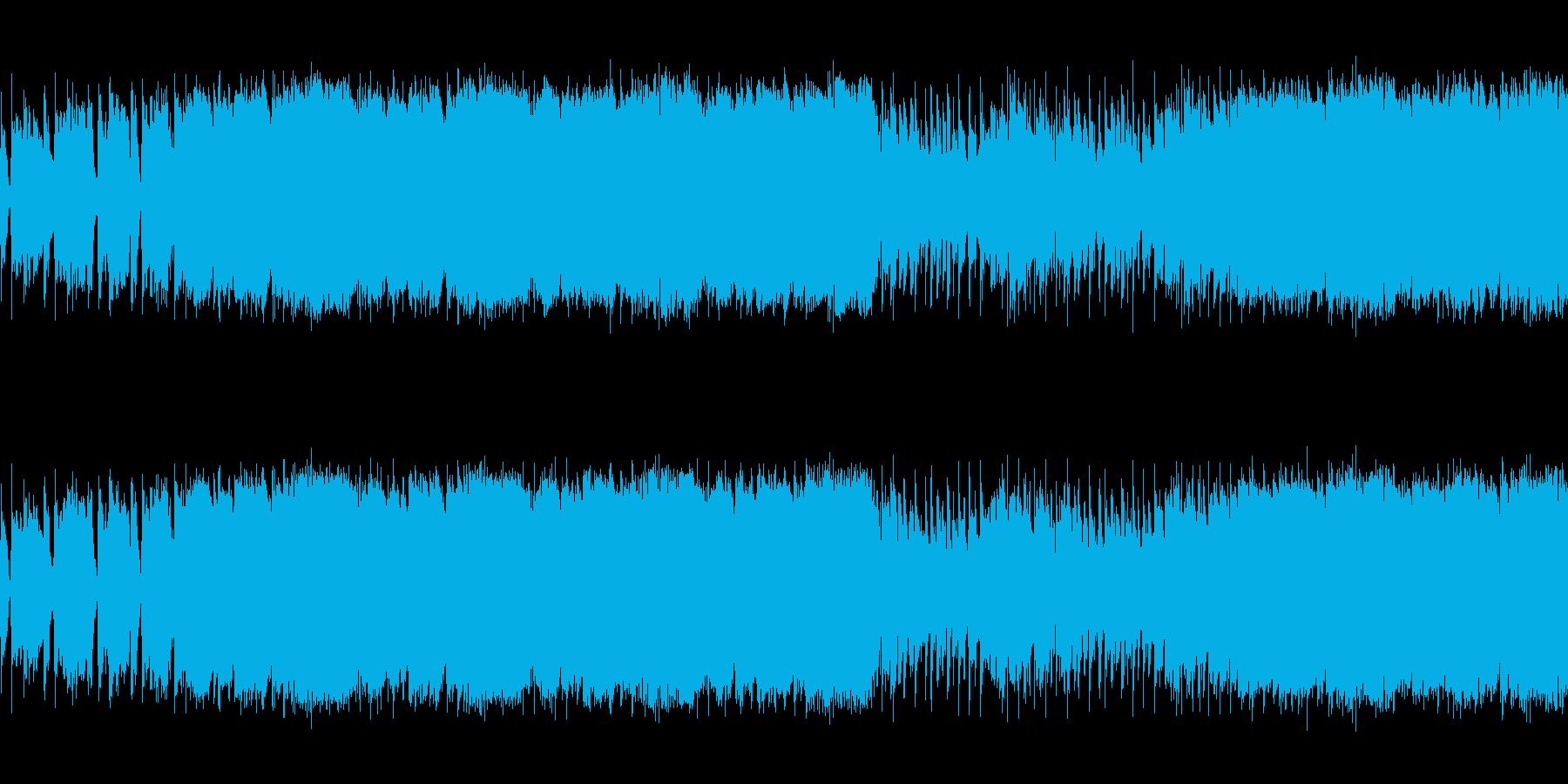 【爽やかなプログレロック、シンセリード】の再生済みの波形