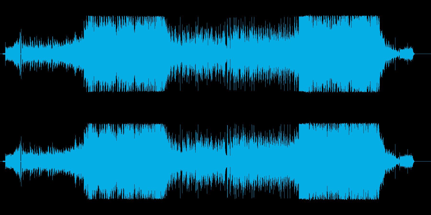 明るく元気なかわいらしいエレクトロPOPの再生済みの波形