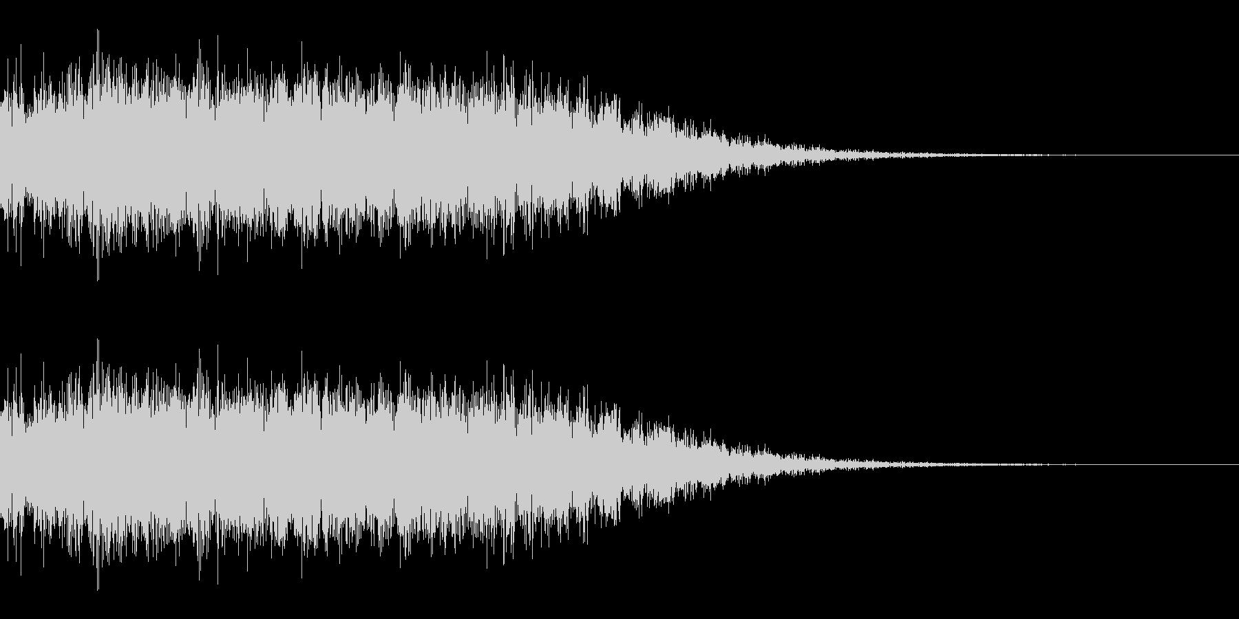 電気系ビームを撃つ音(SF/宇宙/光線)の未再生の波形