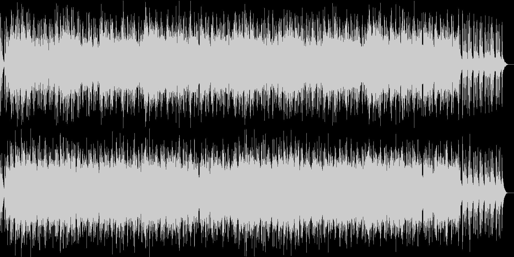 期待感溢れるストリングスBGMの未再生の波形