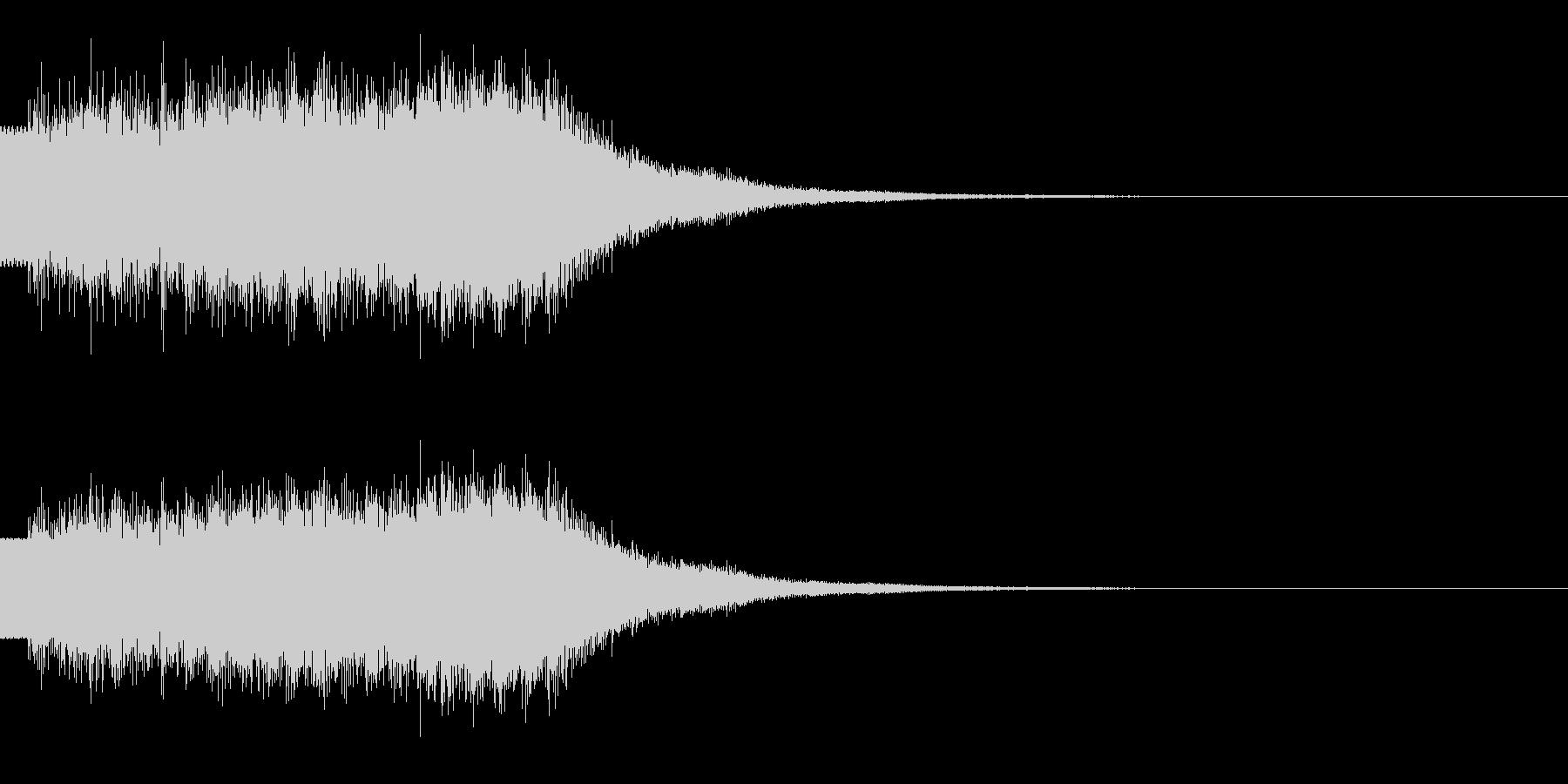 キラキラ/駆け上がり/上昇の未再生の波形