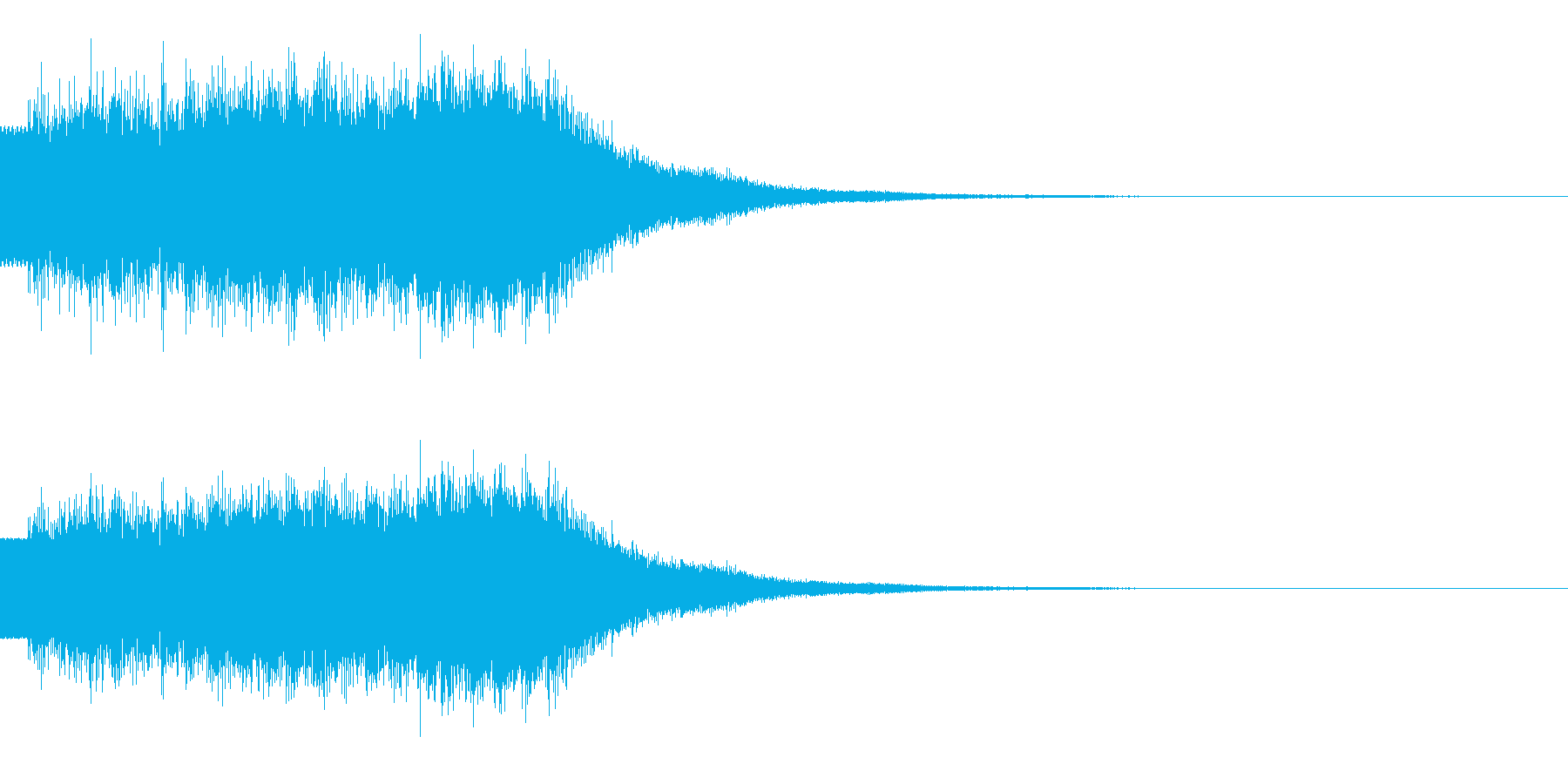 キラキラ/駆け上がり/上昇の再生済みの波形