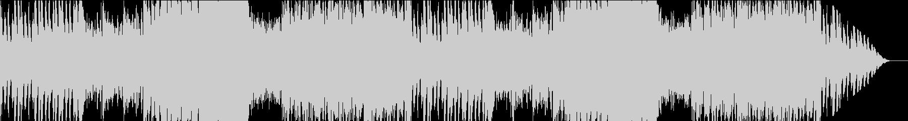 オーケストラ素材のバトル曲の未再生の波形
