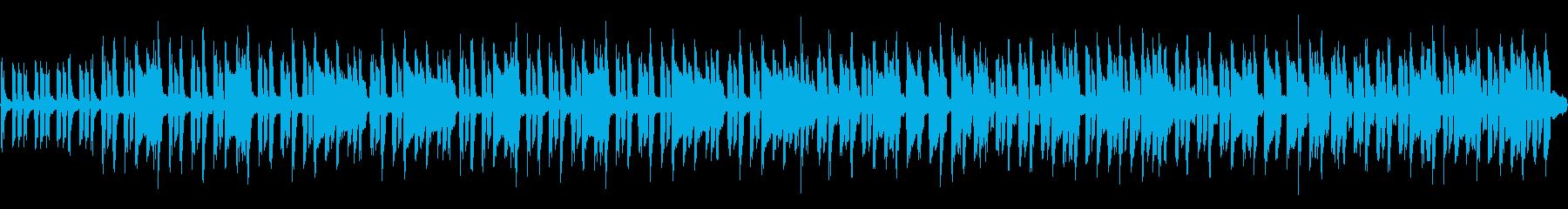 8bit 小さな白鳥たちの踊り(ループ)の再生済みの波形