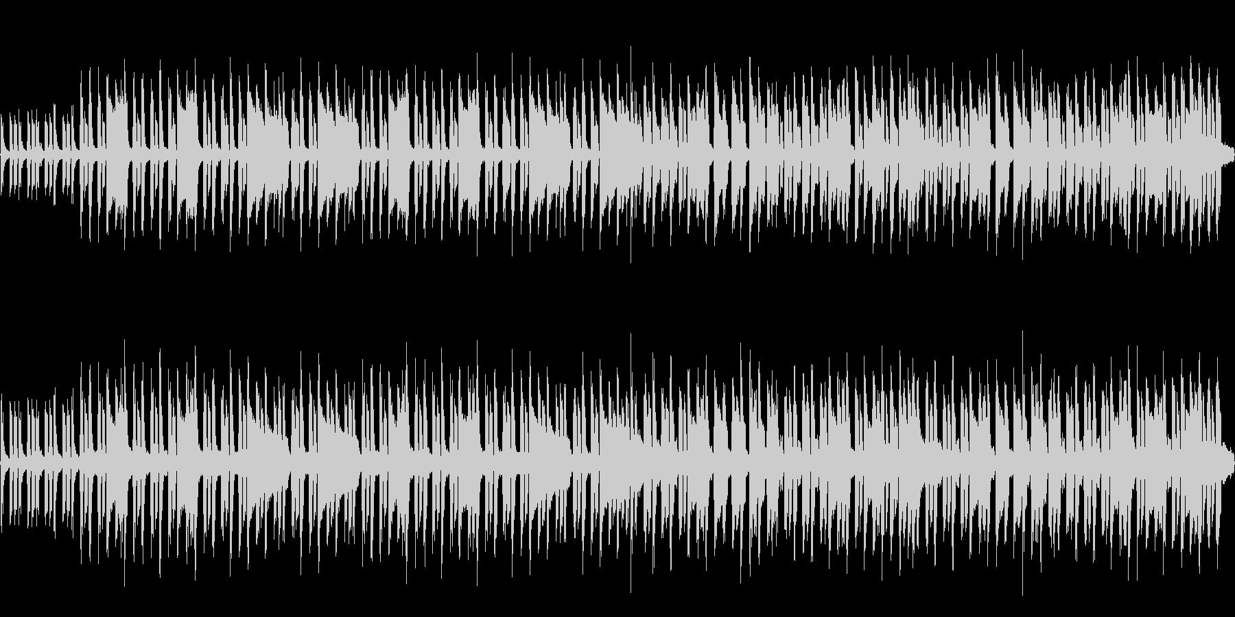 8bit 小さな白鳥たちの踊り(ループ)の未再生の波形