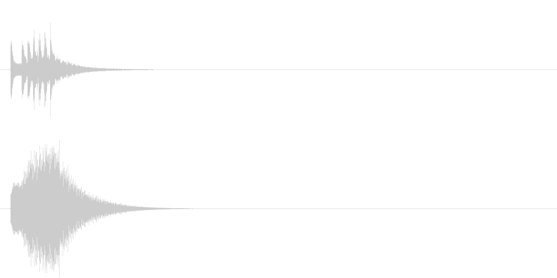 スマホアプリ等で使えるキラキラSE イ…の未再生の波形