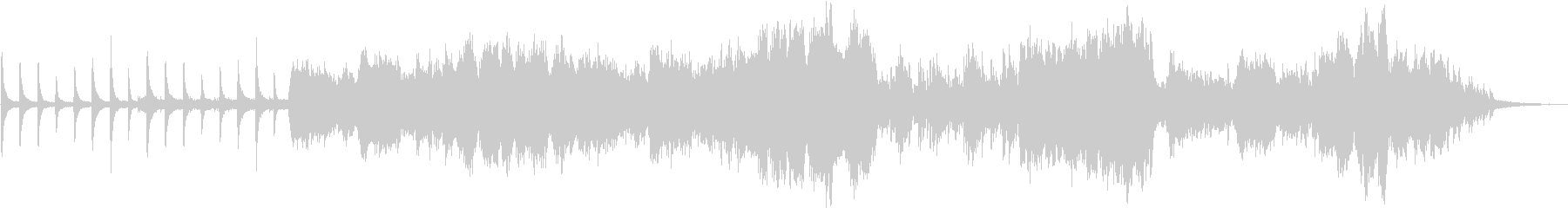 ヨーヨーマ的なチェロと笛とピアノの和弦楽の未再生の波形