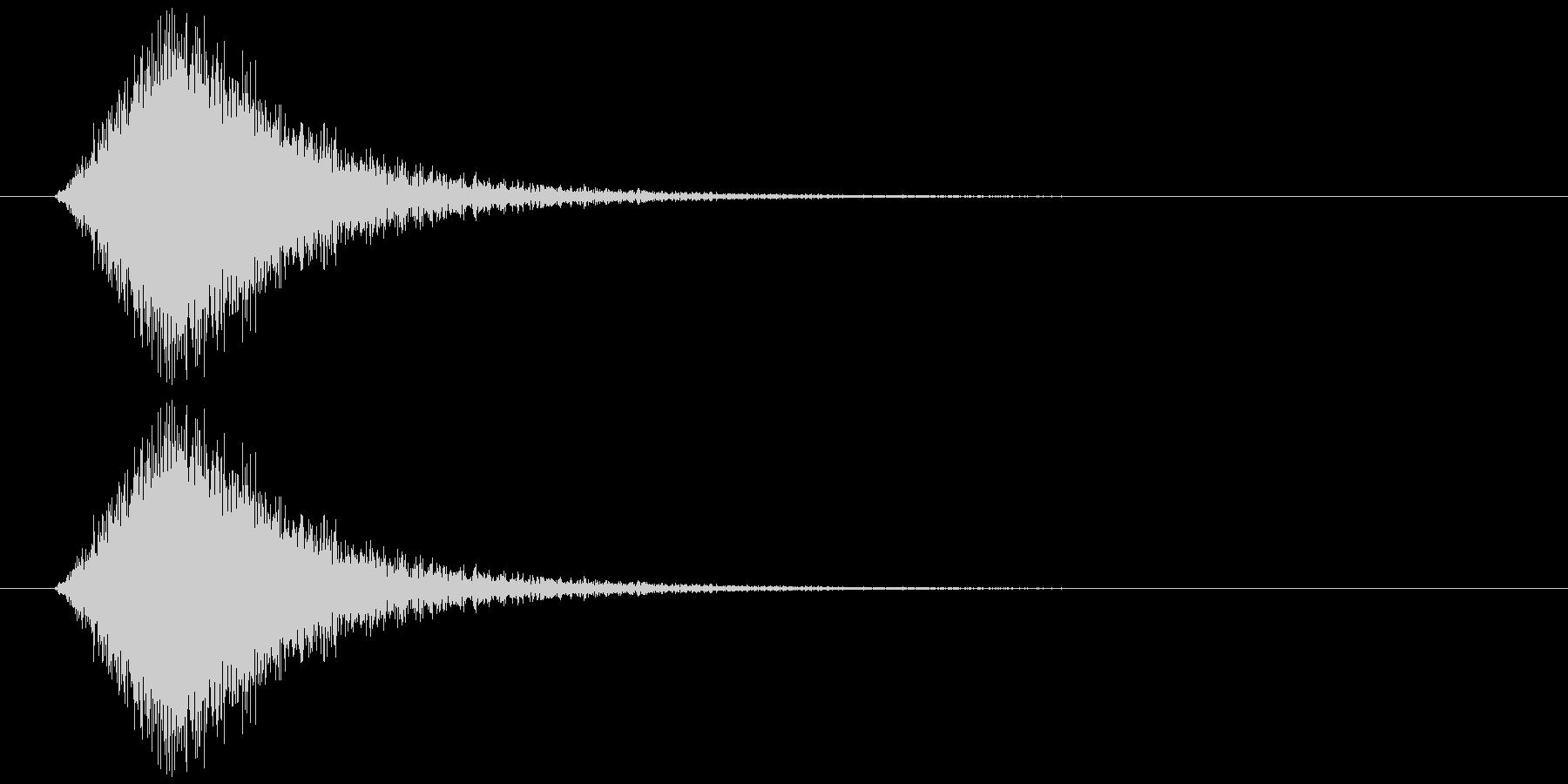 【SE】風切り音04(シュー 中くらい)の未再生の波形