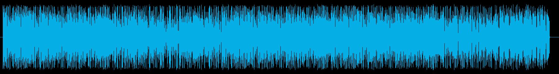 アーバン系なファンク、ソウルの再生済みの波形