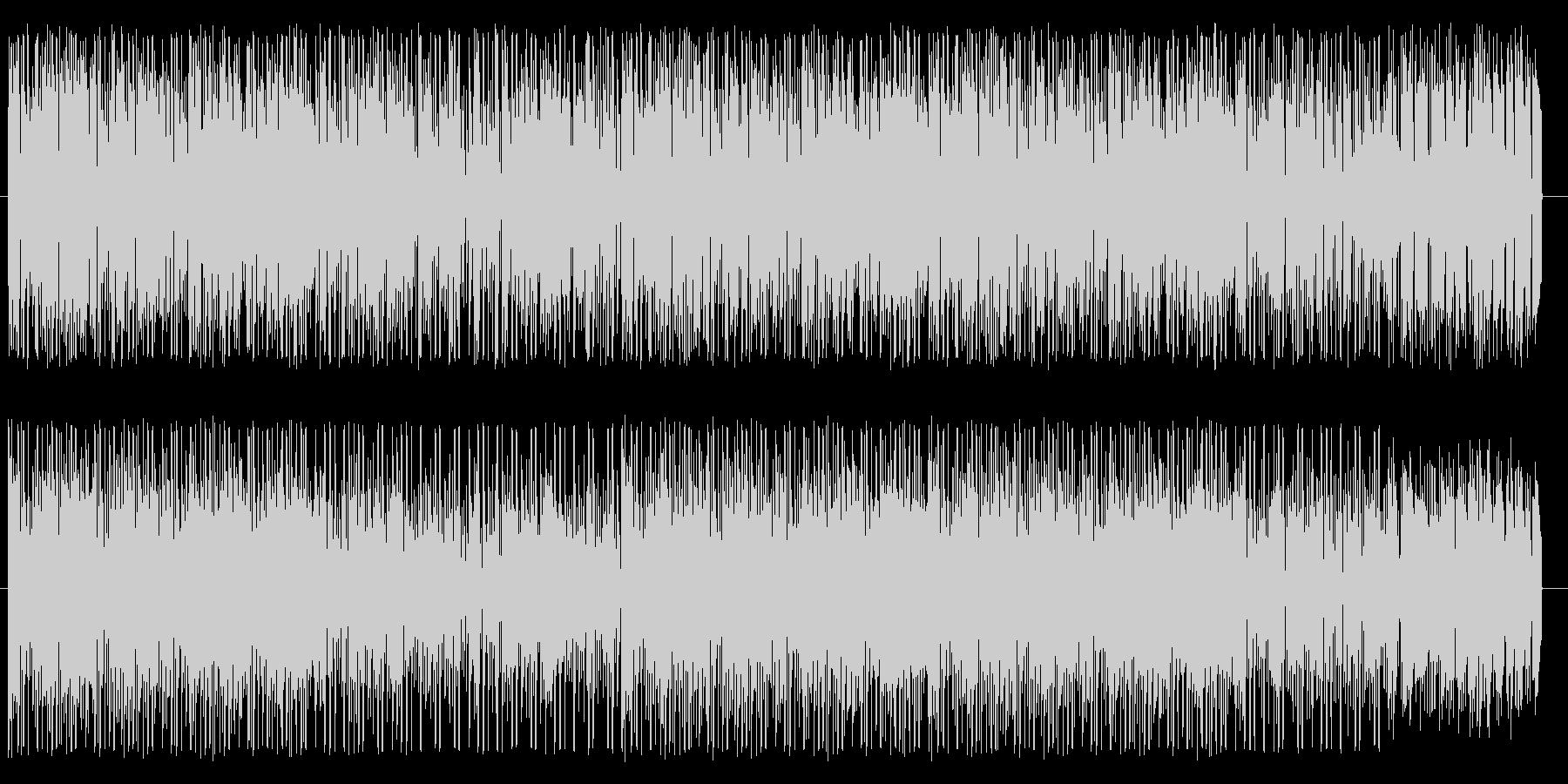 アーバン系なファンク、ソウルの未再生の波形