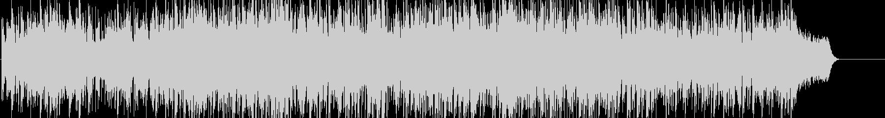 アコギメロが特徴のおしゃれで軽快なBGMの未再生の波形