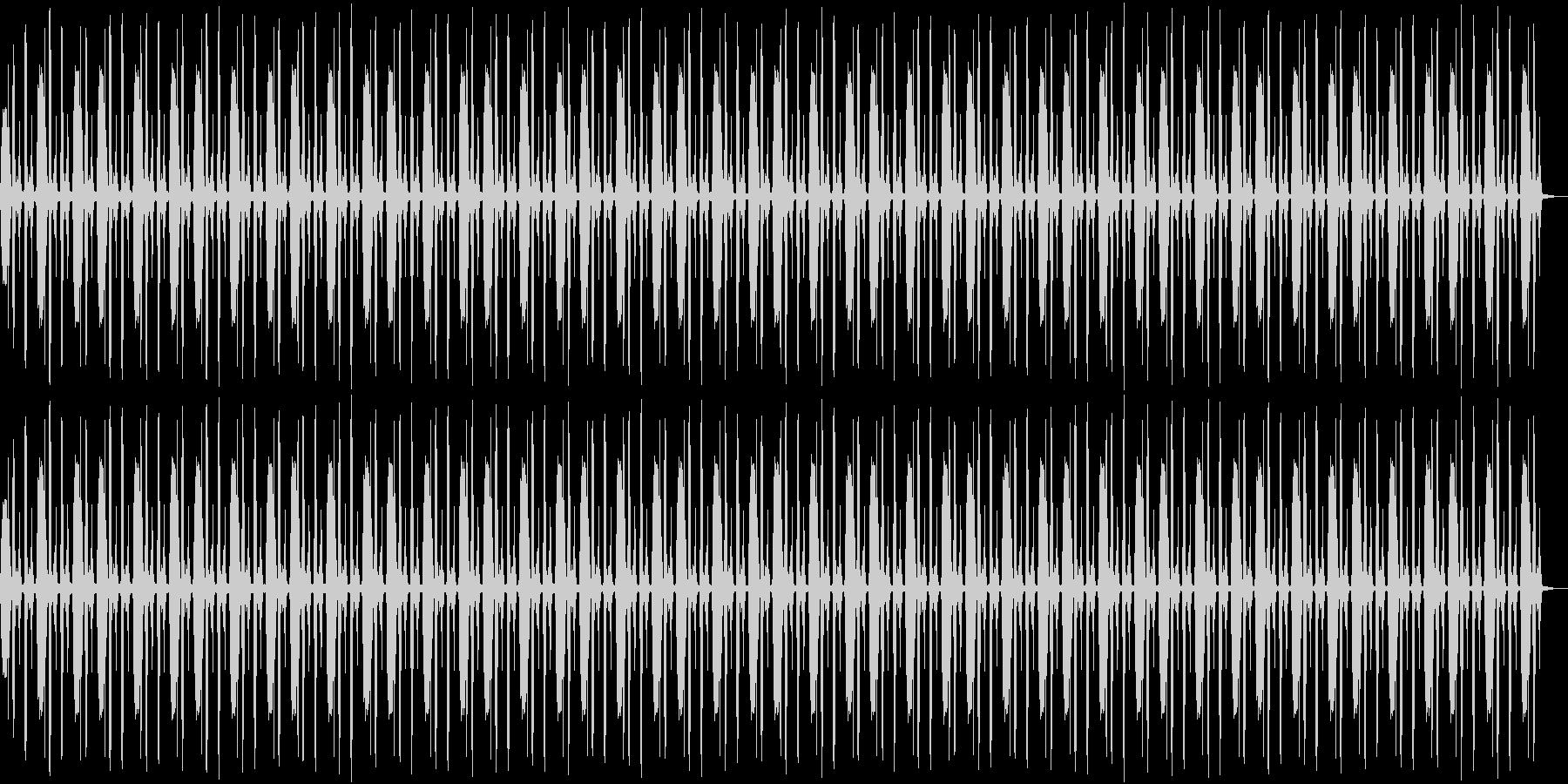 鳥の鳴き声リズムの未再生の波形