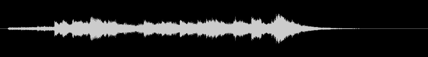 エレガント風キラキラ系サウンドロゴ02の未再生の波形